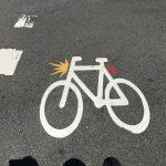 Sean de bici con luces