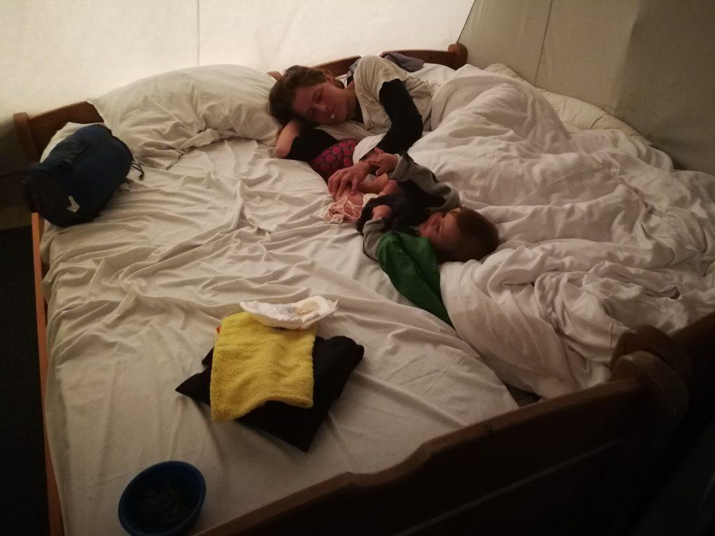 Qué rico hemos dormido aqui